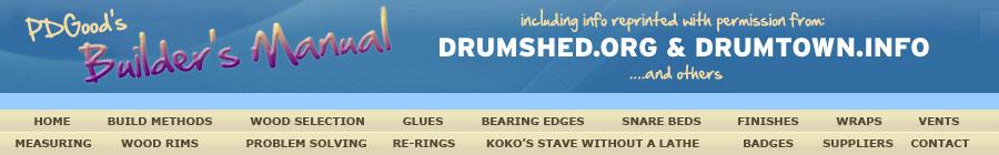 Glues For Drum Building